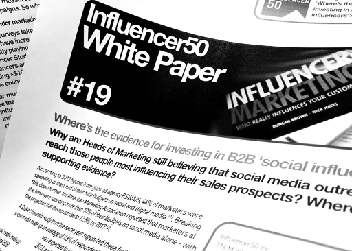 Influencer Marketing, Influencer50, Nick Hayes, Influencer Marketing & Influencer Relations, The Buyerside Journey.com